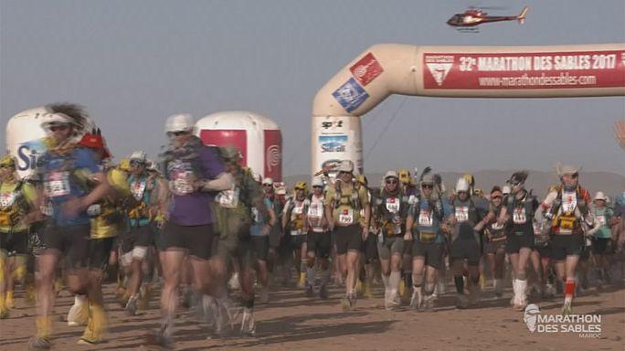 """Рашід ель-Морабіті вп'яте тріумфує на """"Піщаному марафоні"""""""