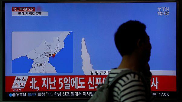 شلیک موشک از سوی کره شمالی؛ کره جنوبی می گوید موفقیت آمیز نبوده است