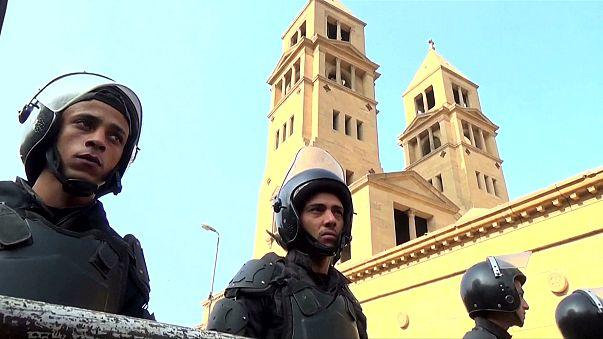 Seguridad reforzada en los templos coptos de Egipto