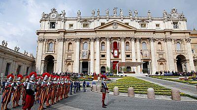 Pâques : le pape François célèbre la messe sous haute sécurité