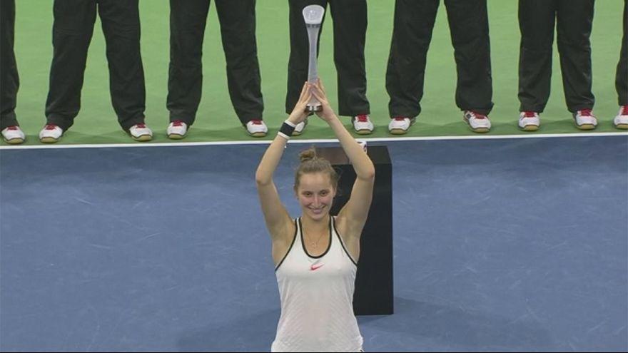 Markéta Vondroušová, a jovem sensação do ténis