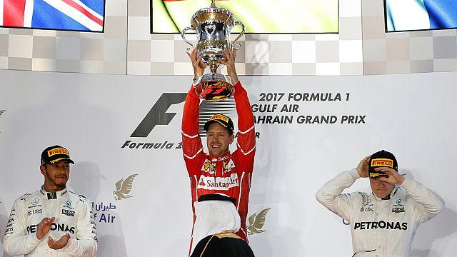 Formula 1: Θρίαμβος του Φετελ και της Ferrari στο Μπαχρέιν