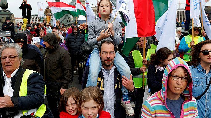 Ungheria, una marcia in memoria delle vittime della Shoah