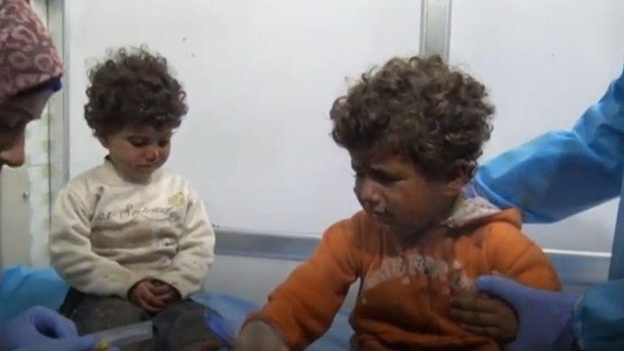 El ataque contra los evacuados en Siria mató a 68 niños