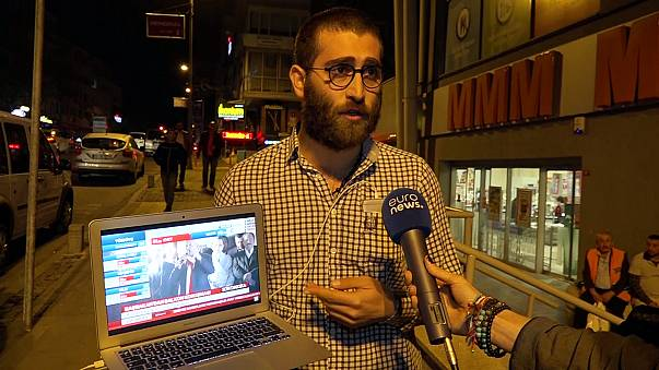 Mixed views on the streets of Istanbul following referendum vote