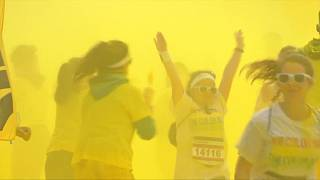 Color Run: Πολύχρωμος αγώνας δρόμου στον Σηκουάνα
