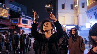 As Erdogan declares victory, crowds protest Turkey's referendum