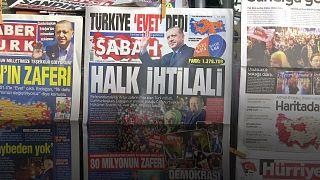 Türkiye referandum sonuçlarını yorumluyor