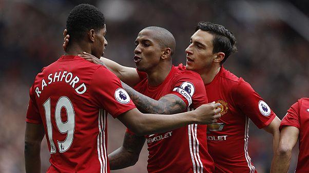 Manchester United sorgt mit 2:0 gegen Chelsea für neue Spannung im Titelkampf