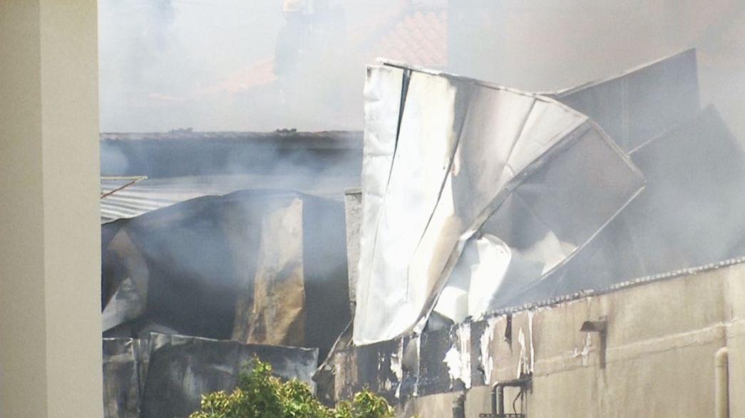 Öten haltak meg egy kisrepülőgép balesetében Lisszabon mellett