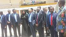 Somali national stadium still a military base, CAF President to the rescue