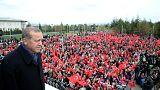 Erdogan promete levar reinstauração da pena de morte ao Parlamento