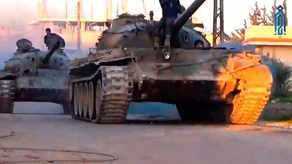 Syrische Regierungstruppen erobern Soran