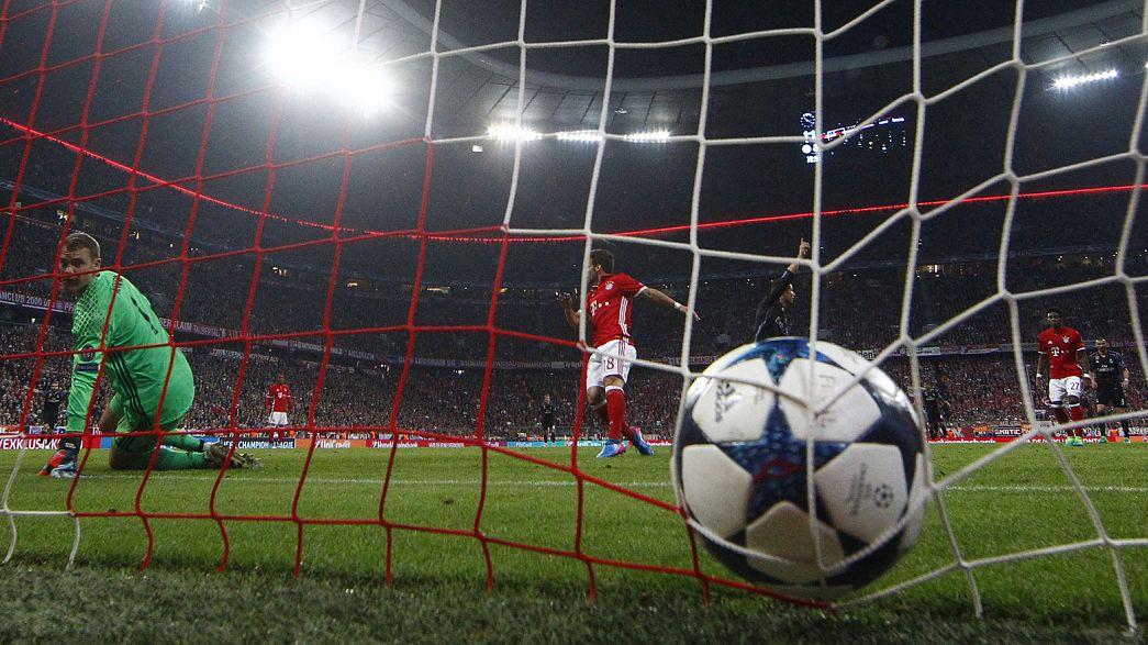 Champions League: Real e Atletico Madrid cercano l'approdo in semifinale