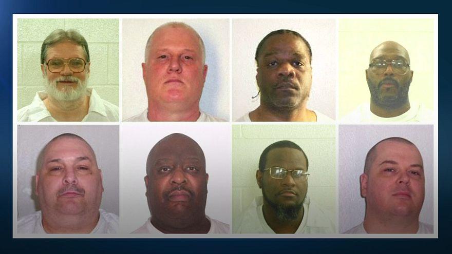 La justicia de Arkansas suspende dos de las ocho polémicas ejecuciones previstas antes del final de abril
