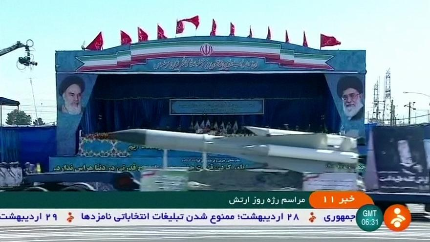 Иран: парад в честь Дня армии
