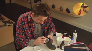 Schuhe mit dem persönlichen Design