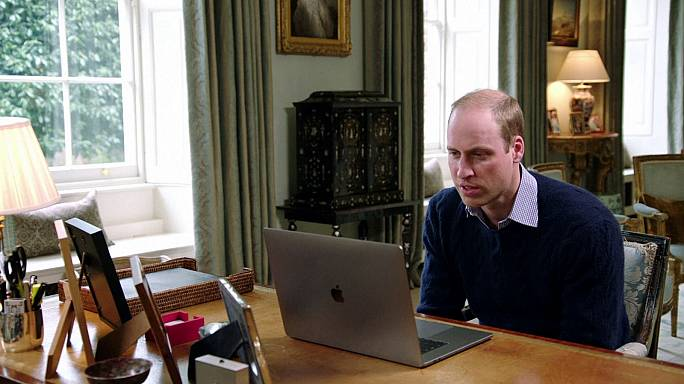 Prince William and Lady Gaga join forces in mental health campaign