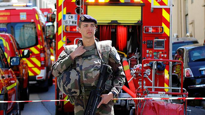 Die französische Polizei vereitelt offenbar einen Terroranschlag