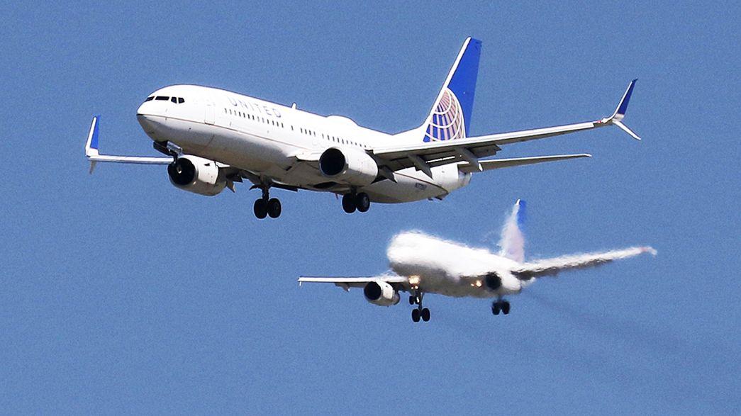 Прибыль United Airlines сократилась, но выручка увеличилась