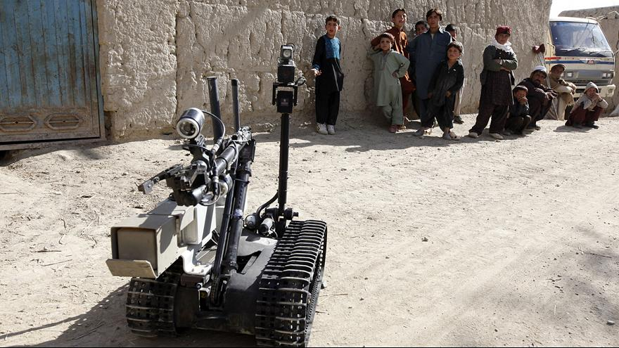 Could military robots enforce safe havens in Syria?