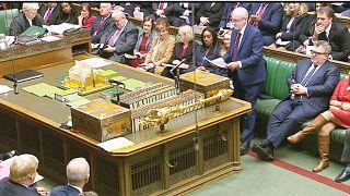 Reacción de la oposición británica tras el anuncio de Theresa May