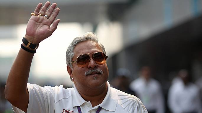 Formel-1-Teamchef Vijay Mallya nach Festnahme wieder auf freiem Fuß