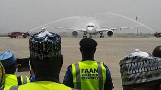 Abuja airport reopens after repairs, Ethiopian makes 'historic' landing