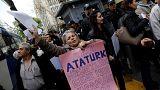 Újabb tüntetésekkel teli éjszaka el néz Törökország