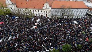 Students against corruption in Slovakia