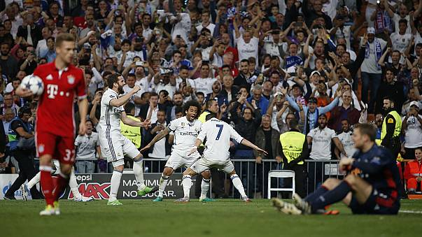 صعود دو تیم مادریدی به مرحله نیمه نهایی لیگ قهرمانان اروپا