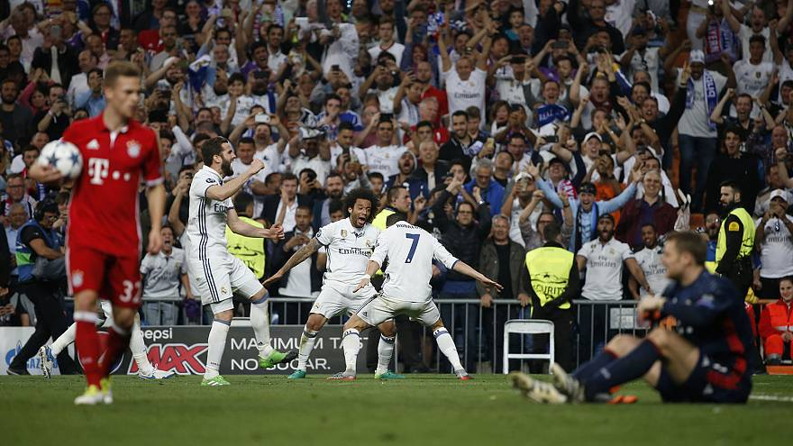 Real Madrid reach record seventh consecutive Champions semi-finals