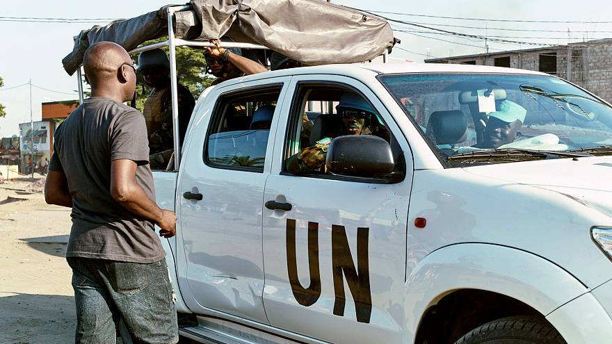 Liberados los 16 miembros de la ONU retenidos en RD Congo