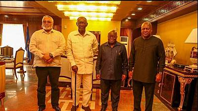 Ghana's president lauded for 'consulting' his predecessors, the 3 Johns