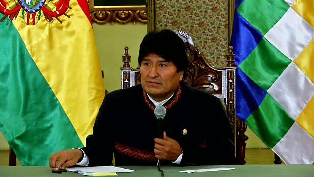 Bolivian opposition urges President Morales against potential fourth term