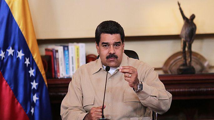 مادورو يحشد القوات لمواجهة الاحتجاجات في فنزويلا