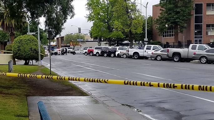 "Three die in California ""race attack"""