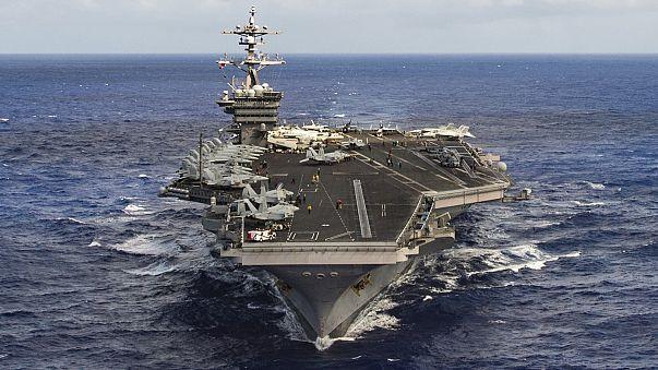 ABD savaş gemilerinin rotası Kore'den Avustralya'ya çevrildi