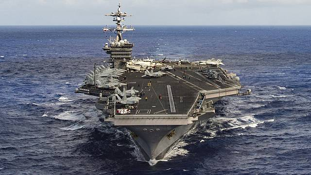 US navy sails wrong way as North Korean audience cheers nuked America video