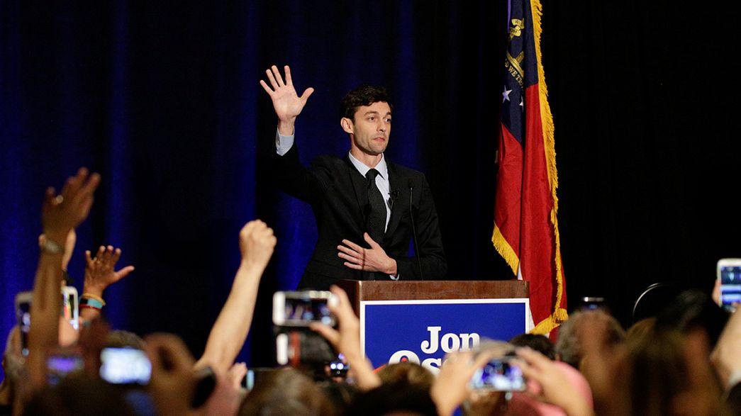 Trump Cumhuriyetçileri Georgia ara seçimi için sandığa gitmeye çağırdı