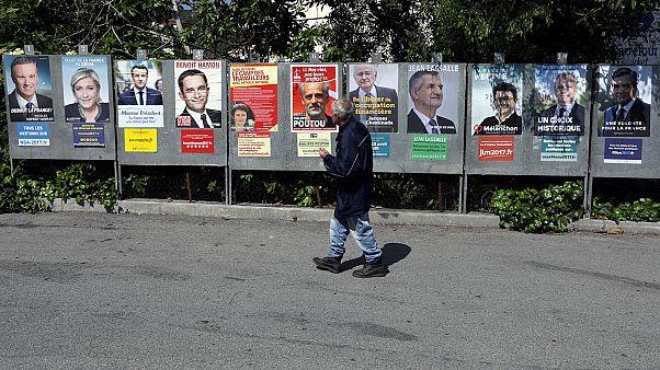 Frankreich wählt in 3 Tagen: Die witzigsten Plakate