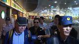 Le dissident Zhang Xiangzhong de retour en Chine