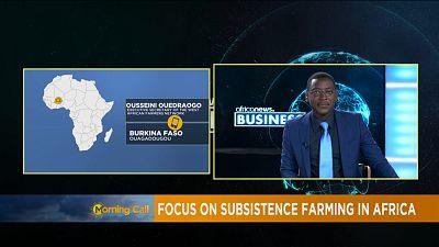 Relancer l'agriculture familiale en Afrique [The Morning Call]