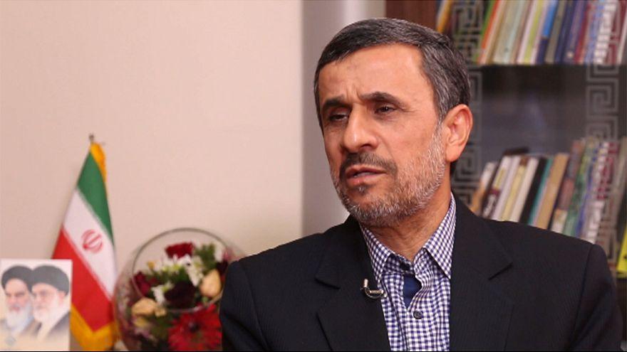 Entrevista exclusia al expresidente iraní Mahmud Ahmadineyad a la espera de que el Consejo de Guardianes decida si veta o no su candidatura a las presidenciales