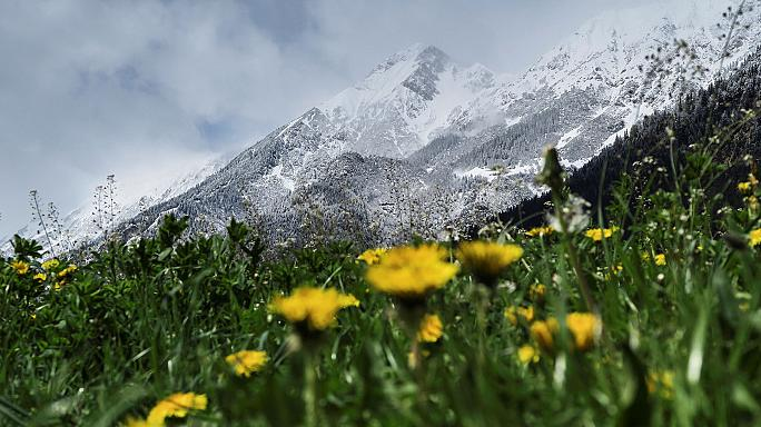 En plein printemps, de la neige sur une bonne partie de l'Europe