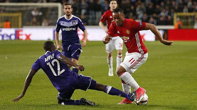 Europa League: Manchester United auf dem Weg ins Halbfinale - Schalke 04 will die Wende schaffen
