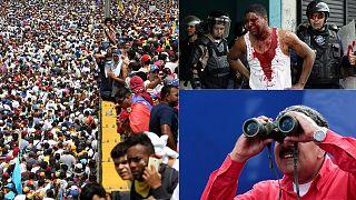 Venezuela, altri due morti durante la protesta oceanica contro Maduro