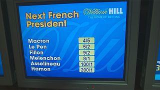 في بريطانيا يراهنون بالمال على الانتخابات الفرنسية