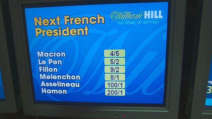 Presidenciais: Macron ganha na bolsa de apostas