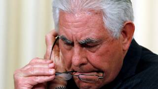 """وزير الخارجية الأمريكي:"""" إيران تُزعزع استقرار منطقة الشرق الأوسط"""""""